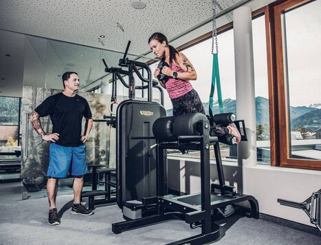 Personal Training im 4*s Hotel Alpenblick Zell am See